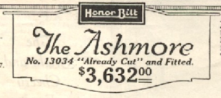 price of Sears Ashmore 1922