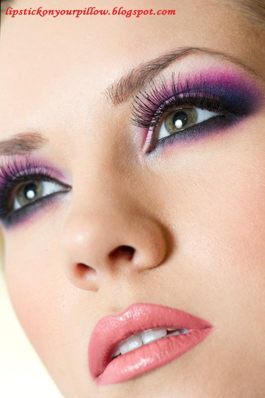 Day Eyeshadow Tutorial: Smokey Valentine - Lipstick On Your Pillow