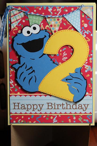 2 Year Old Grandson Birthday Card