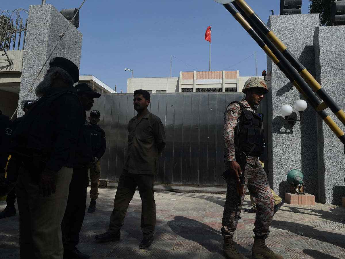 China Task Pakistan To Beef Up Security After Karachi Attack:: REPORT
