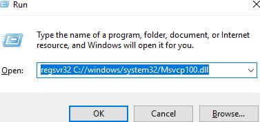 Télécharger Msvcp100.dll Fichier Gratuit Installer