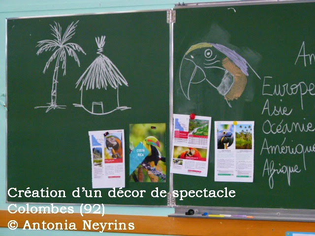 Les Carnets De Voyage D Antonia Neyrins Creation D Un Decor De