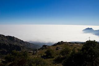 Mar de Nubes Sierra de Madrid Monte Abantos San Lorenzo del Escorial