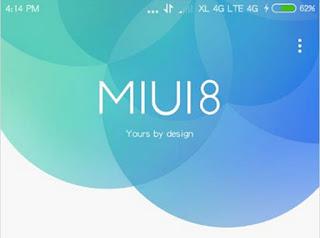 Cara Update MIUI 8 ROM For Xiaomi Redmi 2 Terbaru