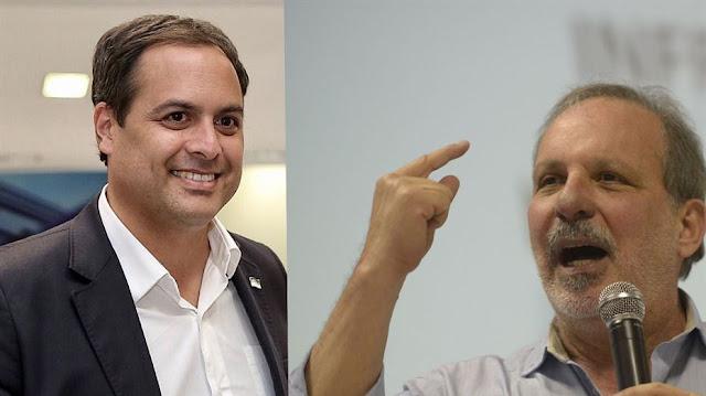 Pesquisa Ibope: Paulo lidera, com 35%; Armando, 27%