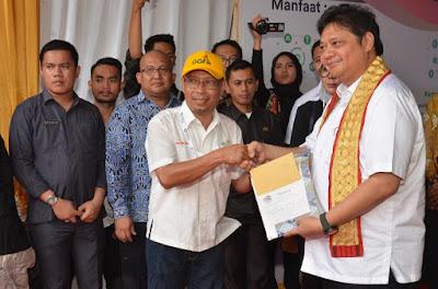 Menperin Airlangga Hadiri Pelepasan Ekspor Pisang di Lampung