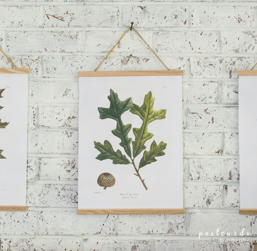 vintage oak leaf printable