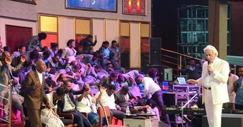 The Old Black Church: Pastor Benny Hinn Stunned Members Of