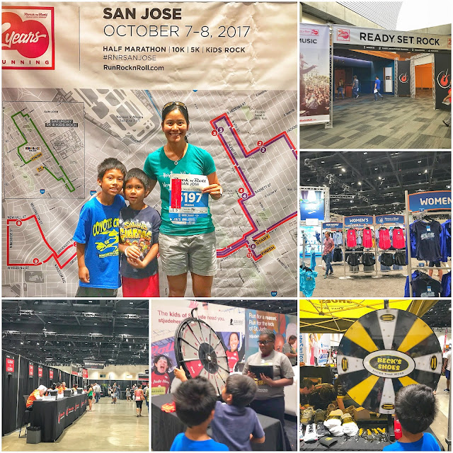 Rock'n'Roll San Jose Half Marathon Expo