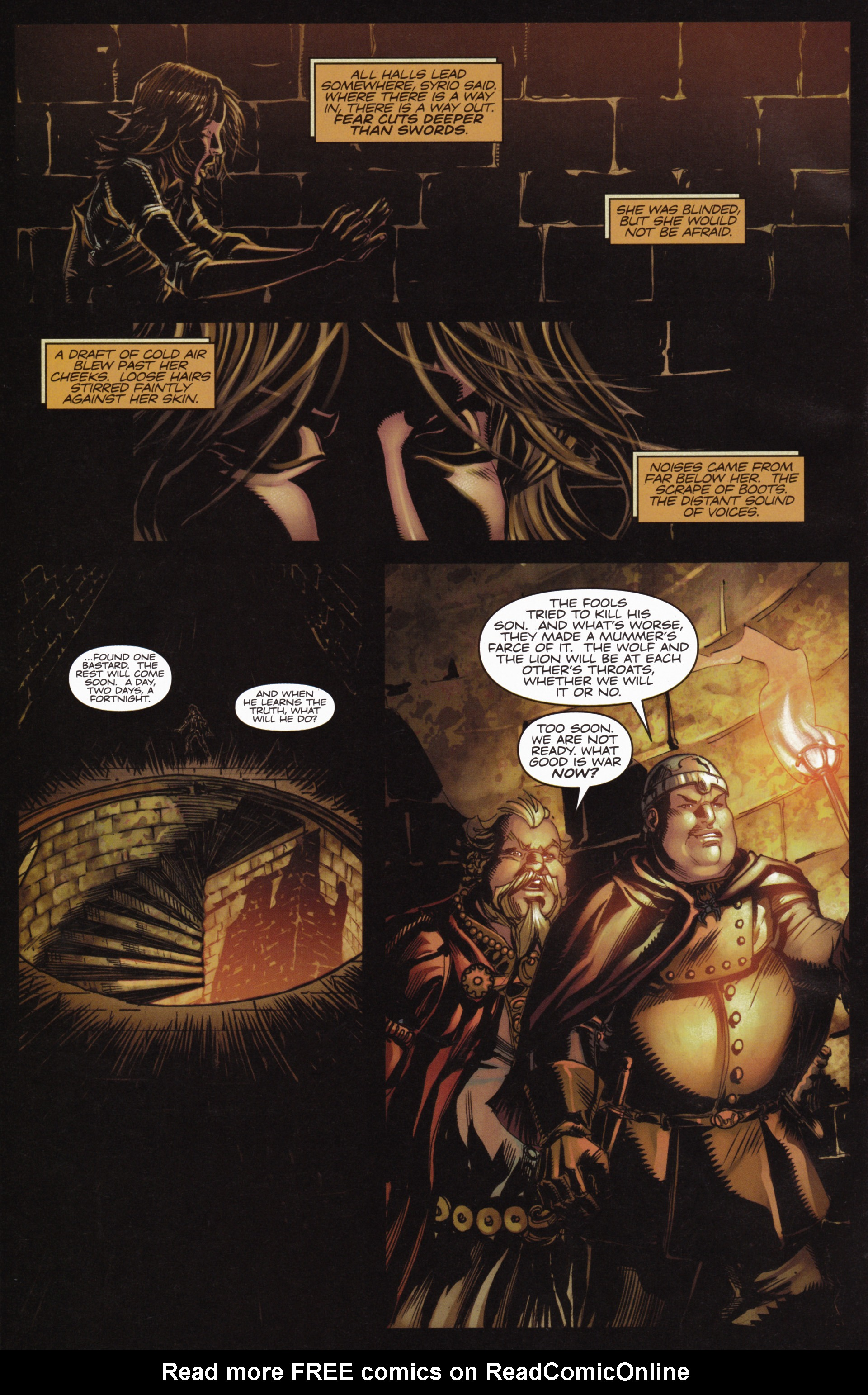 Read online A Game Of Thrones comic -  Issue #10 - 20