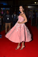 Catherine Tressa looks super cute in strapless sleeveless deep short dress at 64th Jio Filmfare Awards South ~  Exclusive 041.JPG