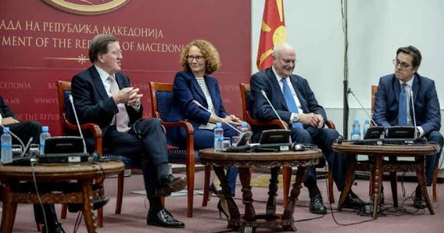 """Robertson, Solana, Le Roy, Ischinger and Gelbard as the """"Ohrid Group"""" will help with the EU and NATO"""