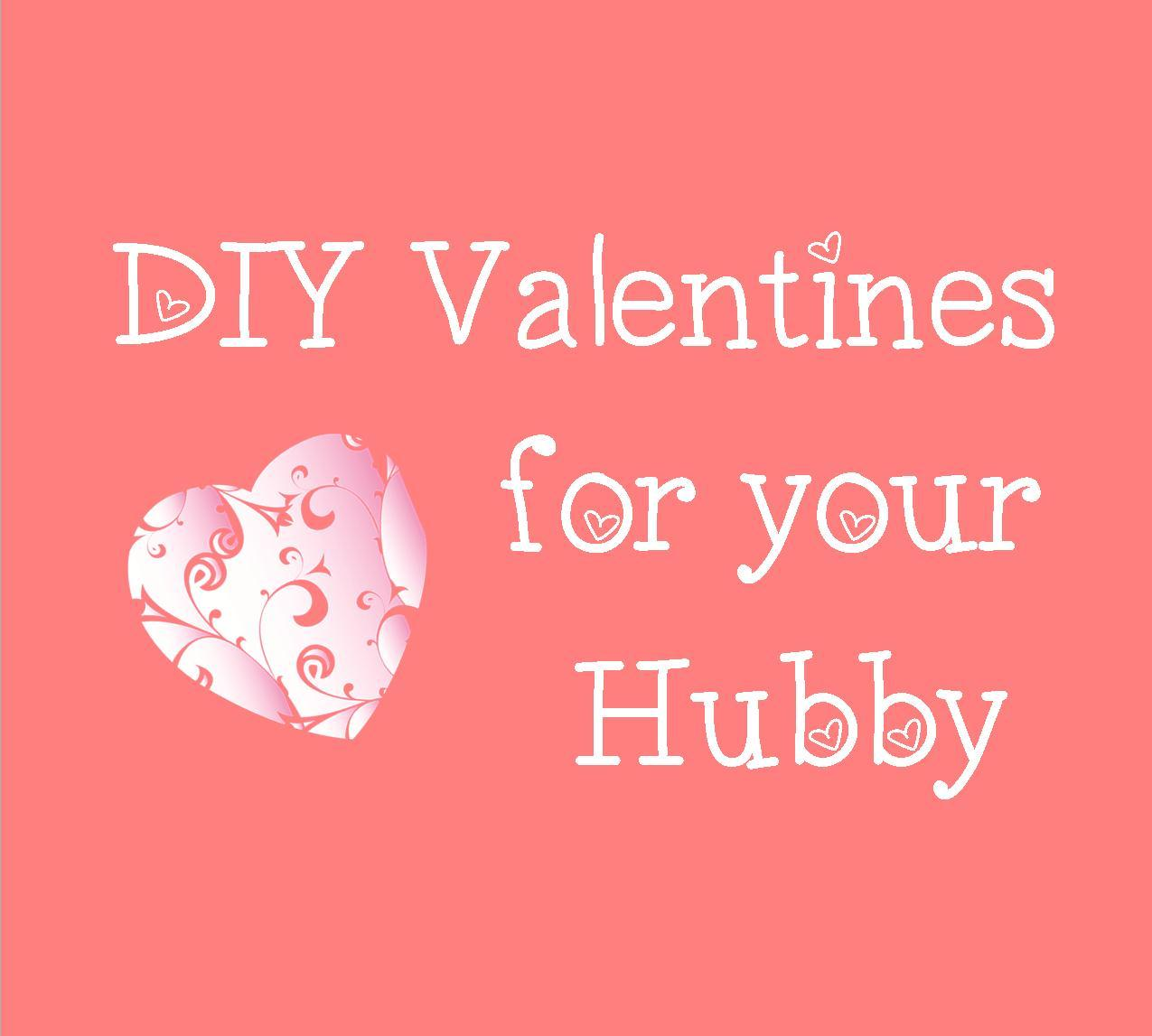Valentine Day Gifts For Husband Pinterest