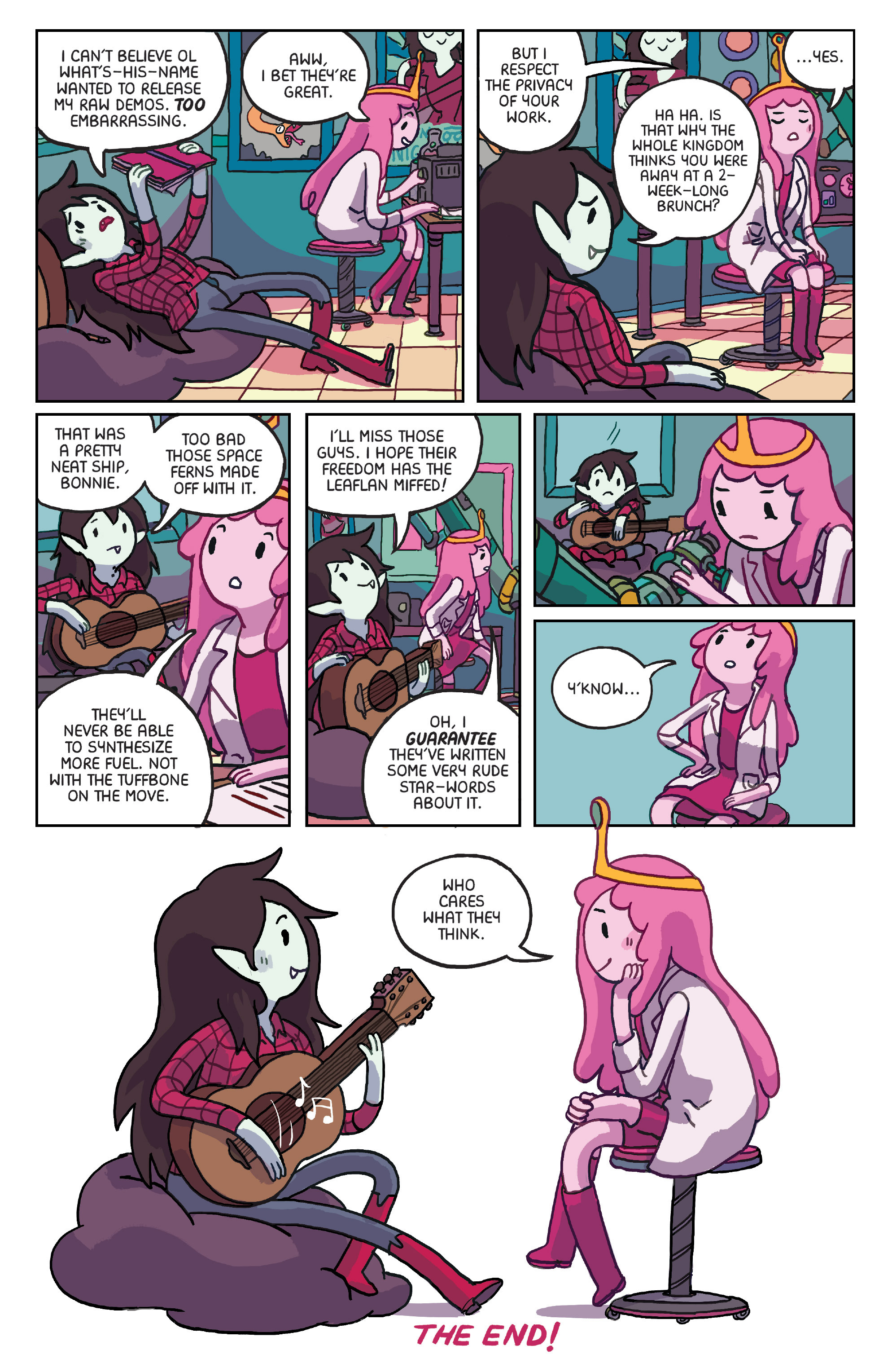 Read online Adventure Time: Marceline Gone Adrift comic -  Issue #6 - 23