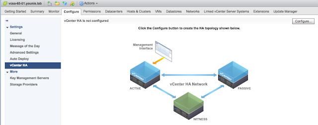 vCenter Server HA