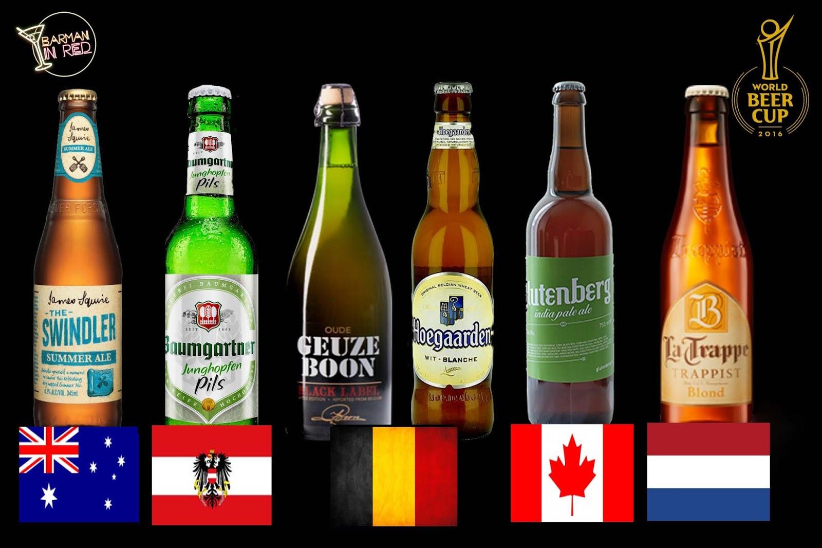 Mejores cervezas artesanales del mundo 2016 for Mejores ensaladas del mundo