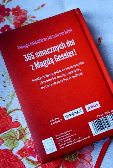Magda Gessler,kalendarz kulinarny,terminarz 2017,najlepsze terminarze kulinarne,edipresse książki,