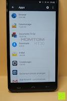 """App Einstellungen zurücksetzen: HOMTOM HT30 3G Smartphone 5.5""""Android 6.0 MT6580 Quad Core 1.3GHz Mobile Phone 1GB RAM 8GB ROM Smart Gestures Wake Gestures Dual SIM OTA GPS WIFI,Weiß"""