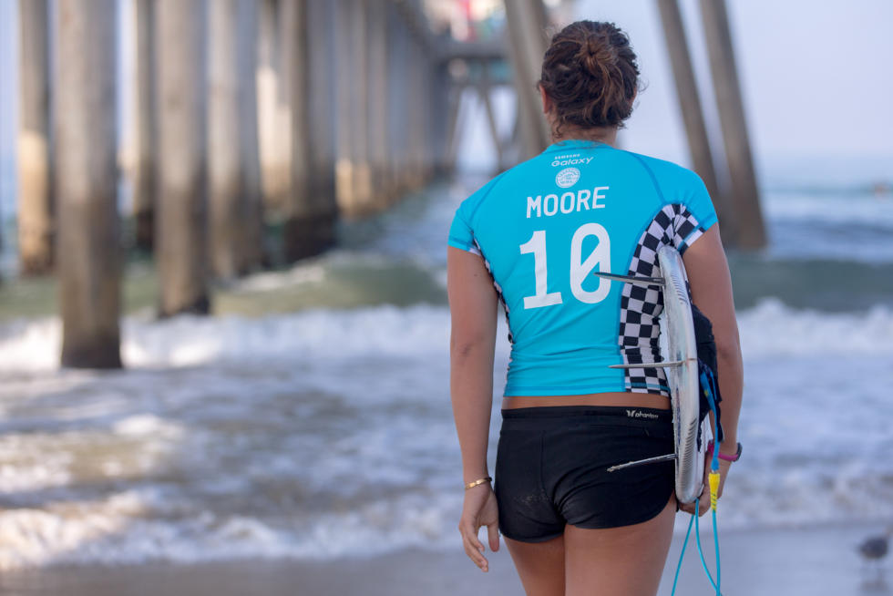 12 Carissa Moore Vans US Open of Surfing foto Sean Rowland WSL