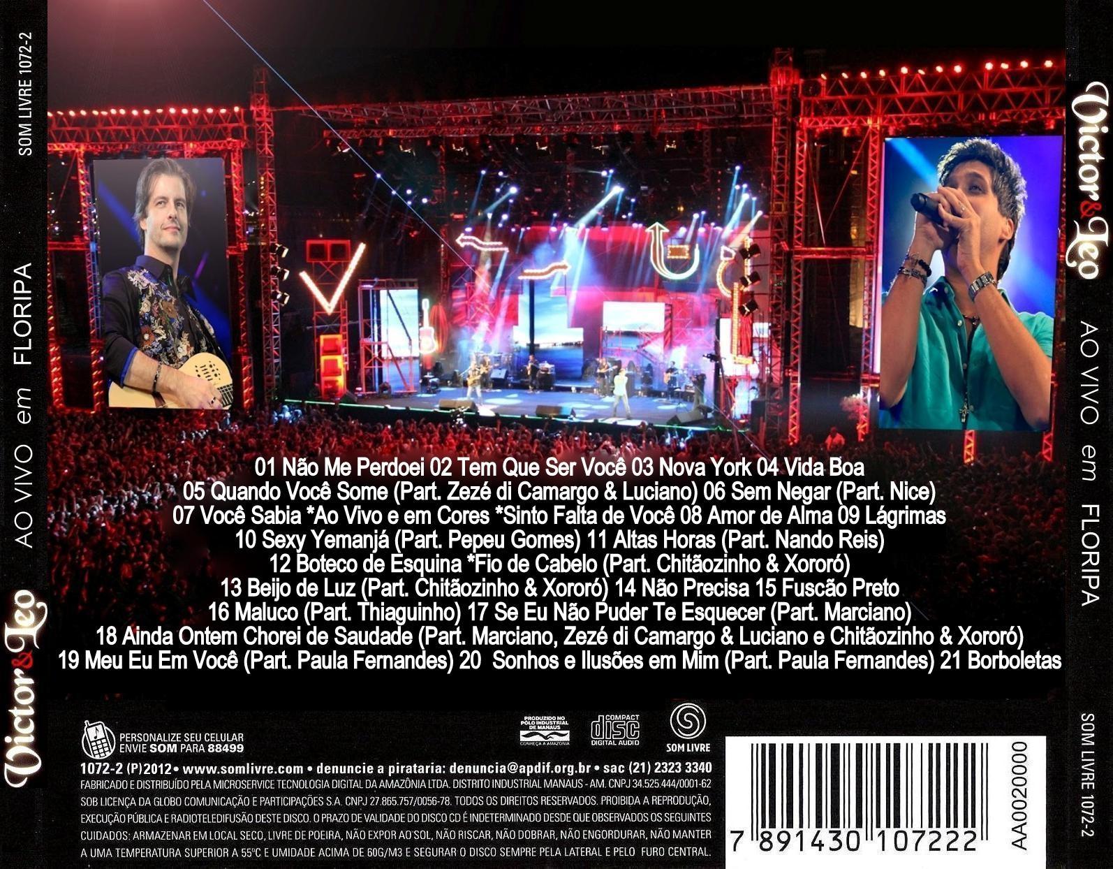 dvd completo de victor e leo em floripa