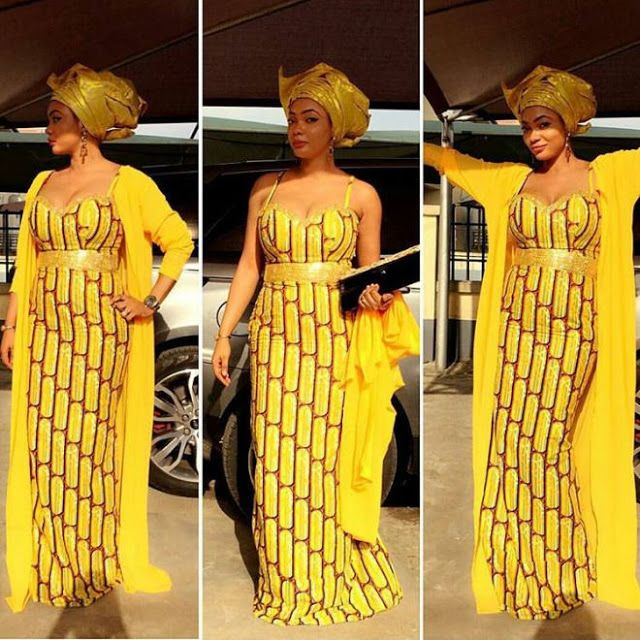 Latest Ankara Long Gown Styles 2017 Debonke House Of Fashion
