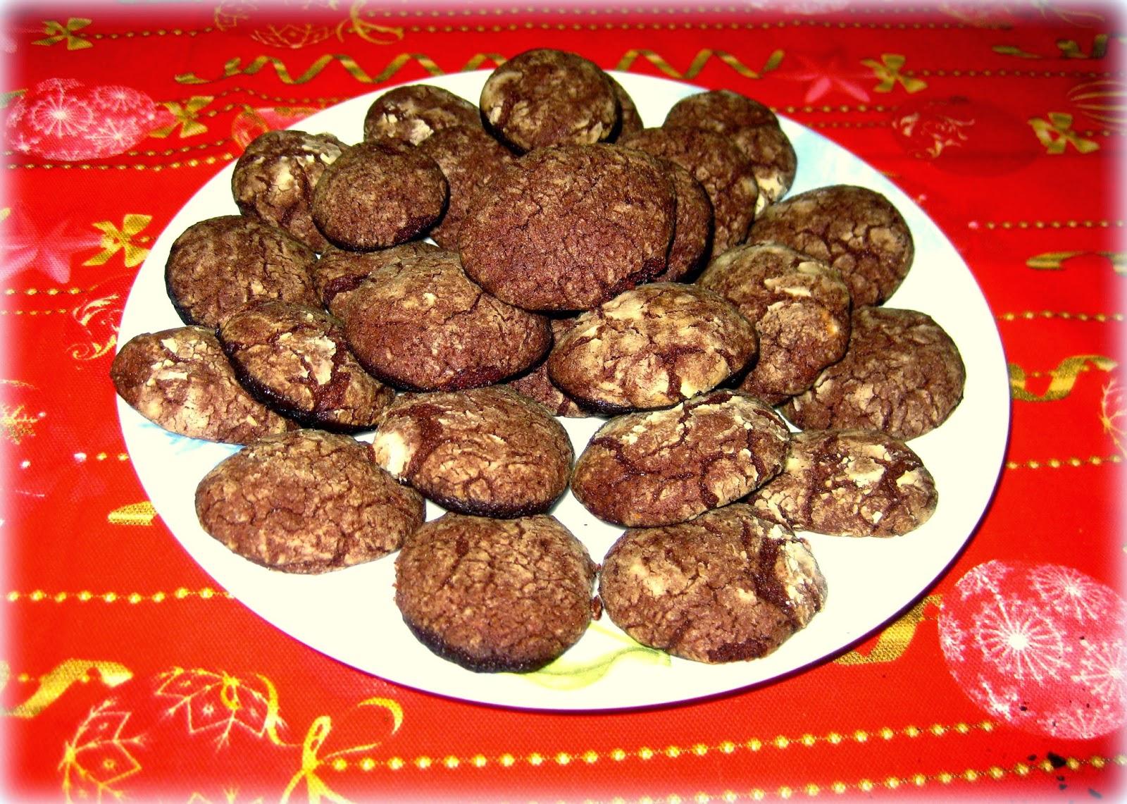 Biscotti al cioccolato - Fragola e Cannella
