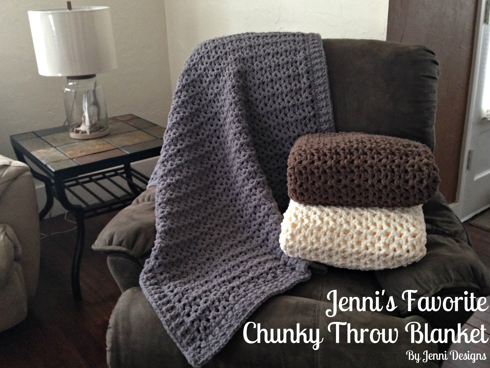 Bernat Blanket Yarn Crochet Patterns Simple Design