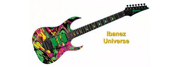 Ibanez Universe la Primera Guitarra Eléctrica de 7 Cuerdas