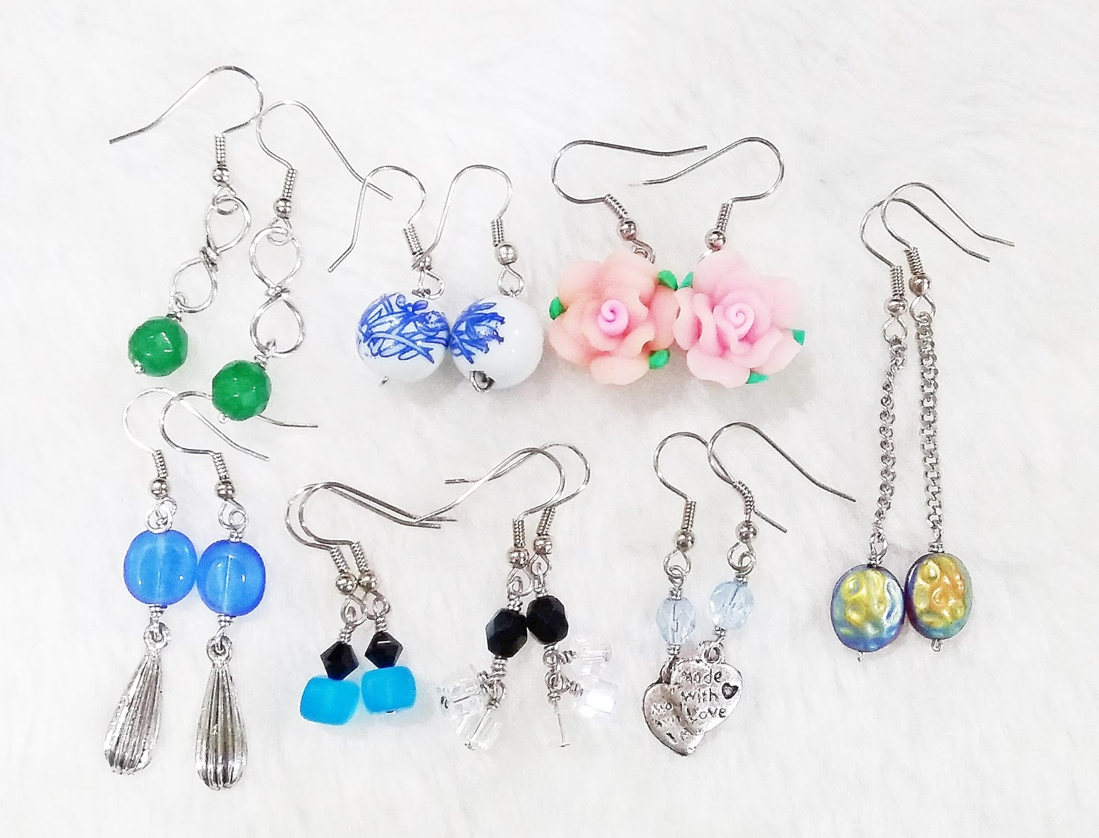 Wire Jewelry - Several Pairs Dangle Earrings ~ WireBliss