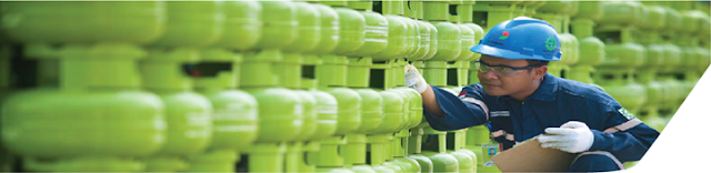 LPG bahan bakar berkualitas