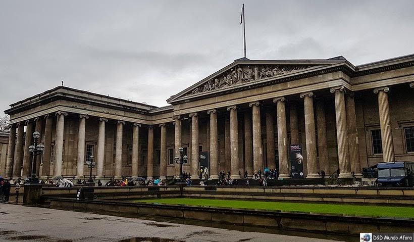 Roteiro: 5 dias em Londres - Museu Britânico