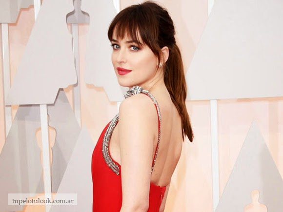 flequillo 2015 Dakota Johnson