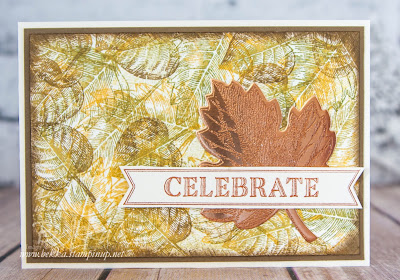 Celebrate Autumn with Vintage Leaves from Stampin' Up! UK