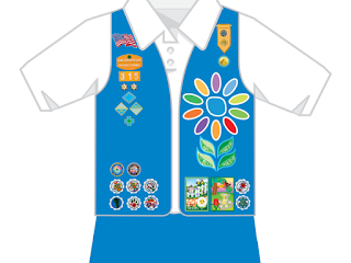 daisy tunic diagram start stop motor control wiring the badge fairy: new uniform placement guidlines for girl scouts