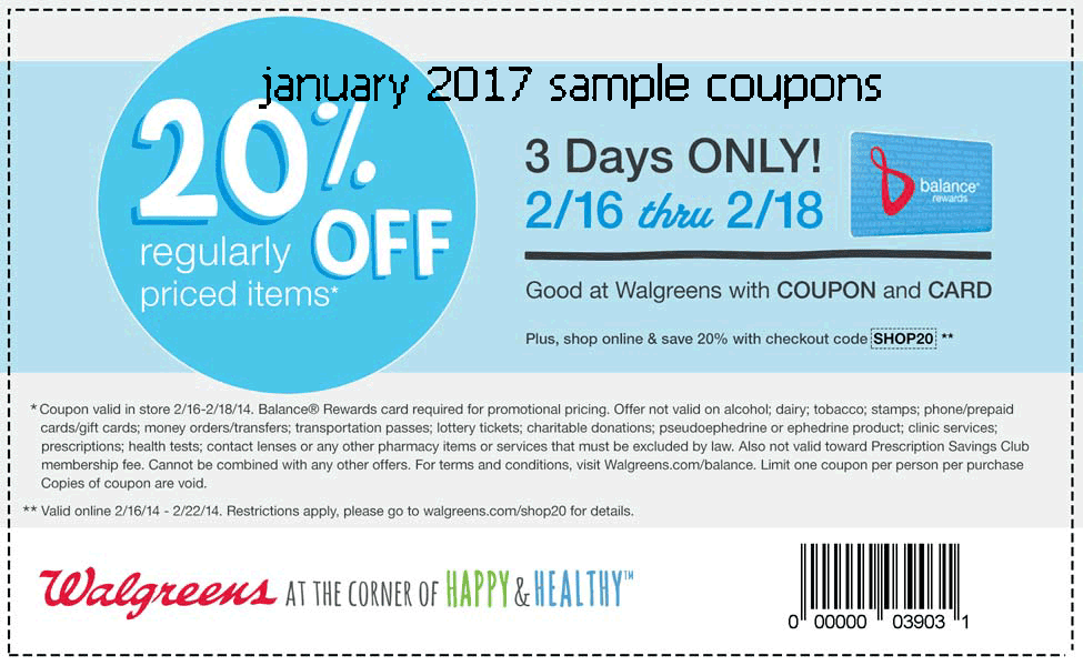 Walgreens picture coupon codes 2018