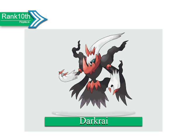 Abilities and Guide About Darkrai image Picpile