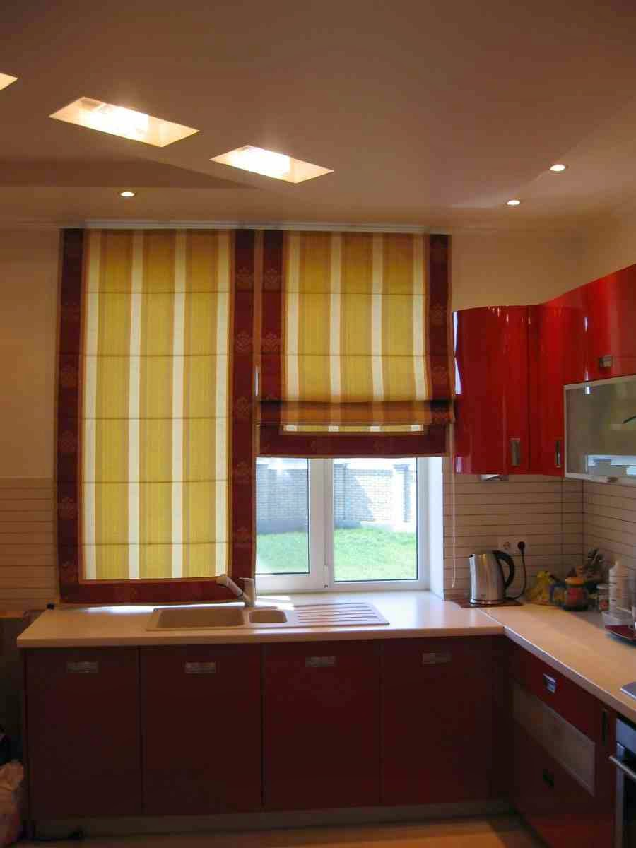 Roman Blinds For Kitchens Roman Curtains Kitchen Print Eat Word Fabric Roman Window Shades