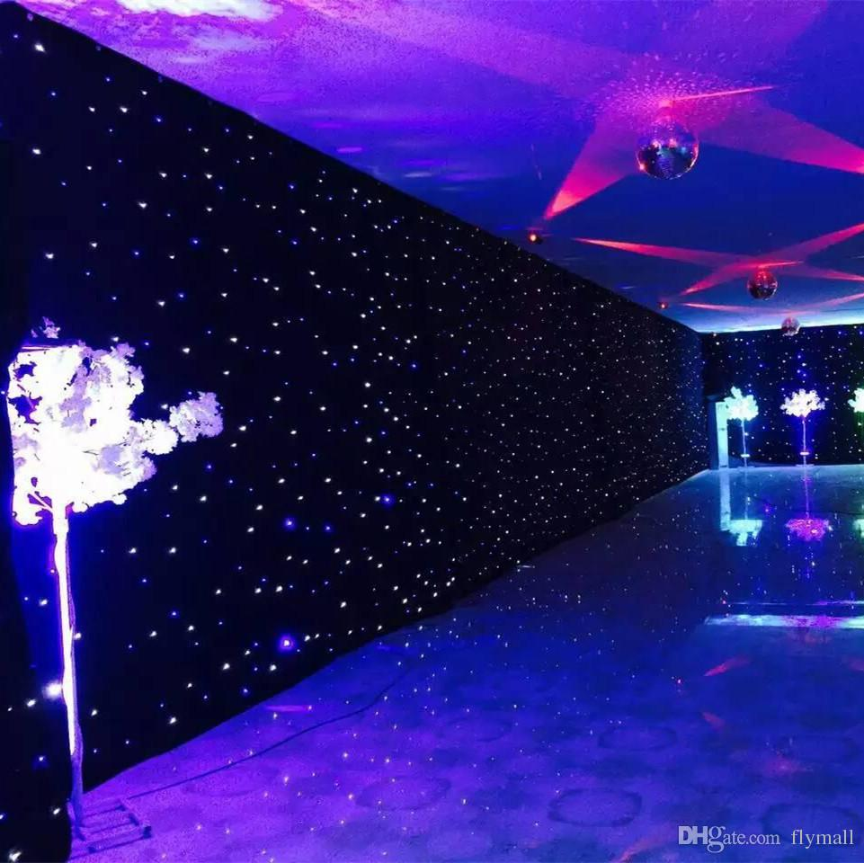 Led Star Curtain Rental | Rent Stuffs LK - Party Rentals & Events