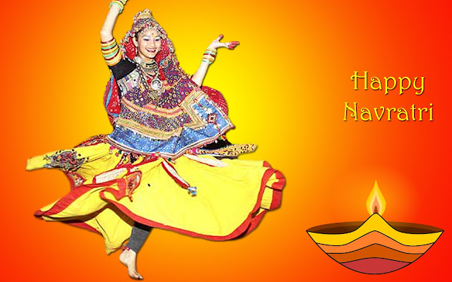 Happy Navratri 2016 SMS Images Quotes Greetings || Durga Puja 2016 Message & Wallpapers