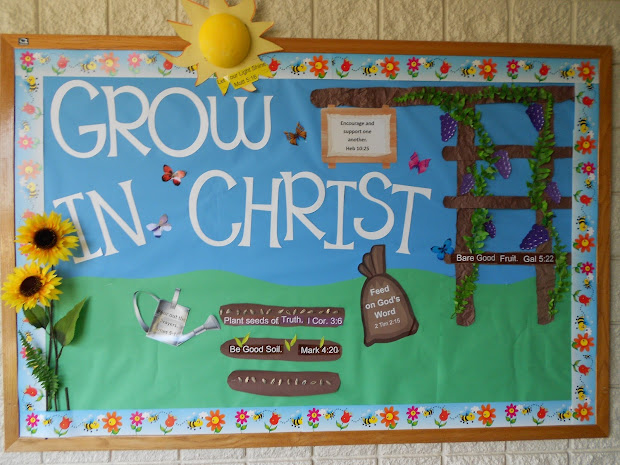 """ Above Rubies"" Church Bulletin Board Ideas"