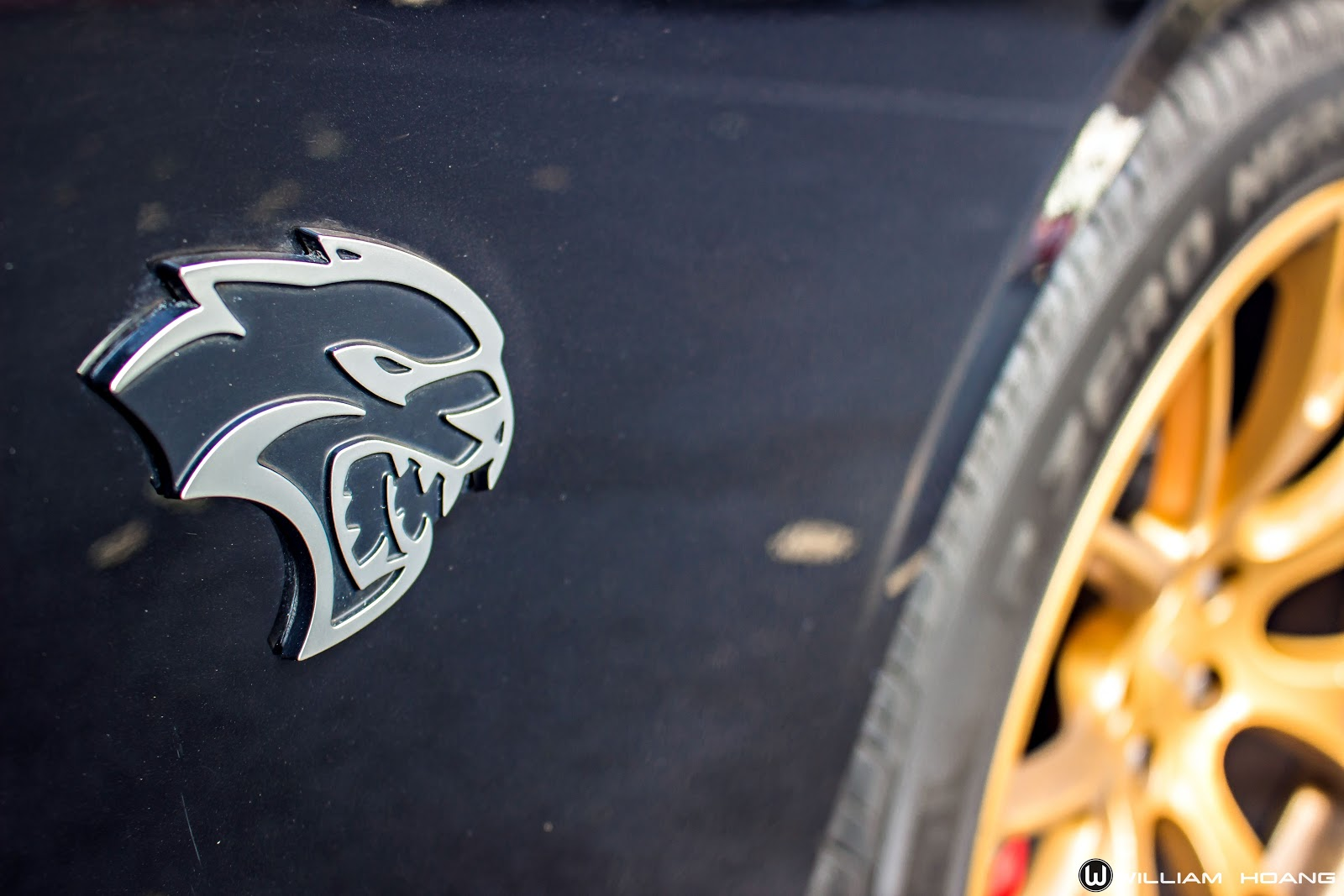 Mèo đen ma quái Dodge Challenger SRT Hellcat dạo phố Sài Gòn