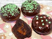 muffinki z dżemem dyniowym