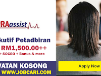 Jawatan Kosong di Pra Assist Medical Network Sdn Bhd - Eksekutif Pentadbiran / Terbuka