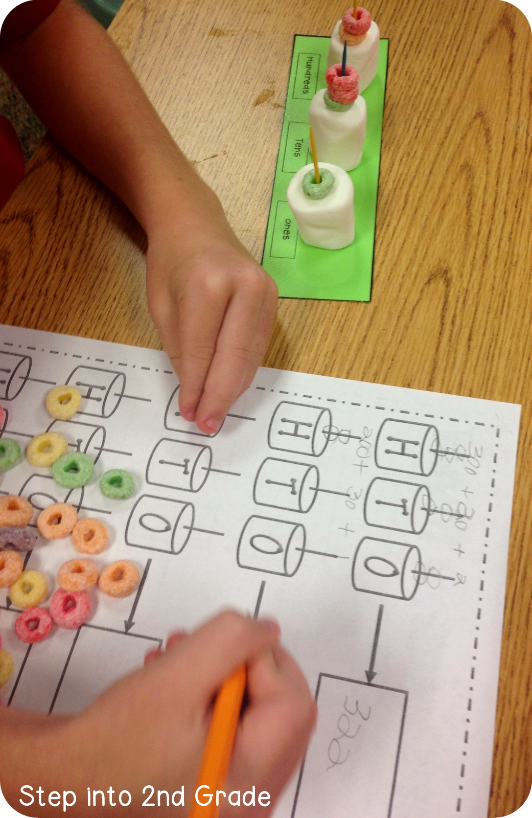 Step Into 2nd Grade With Mrs Lemons Place Value Sentences And Mudge