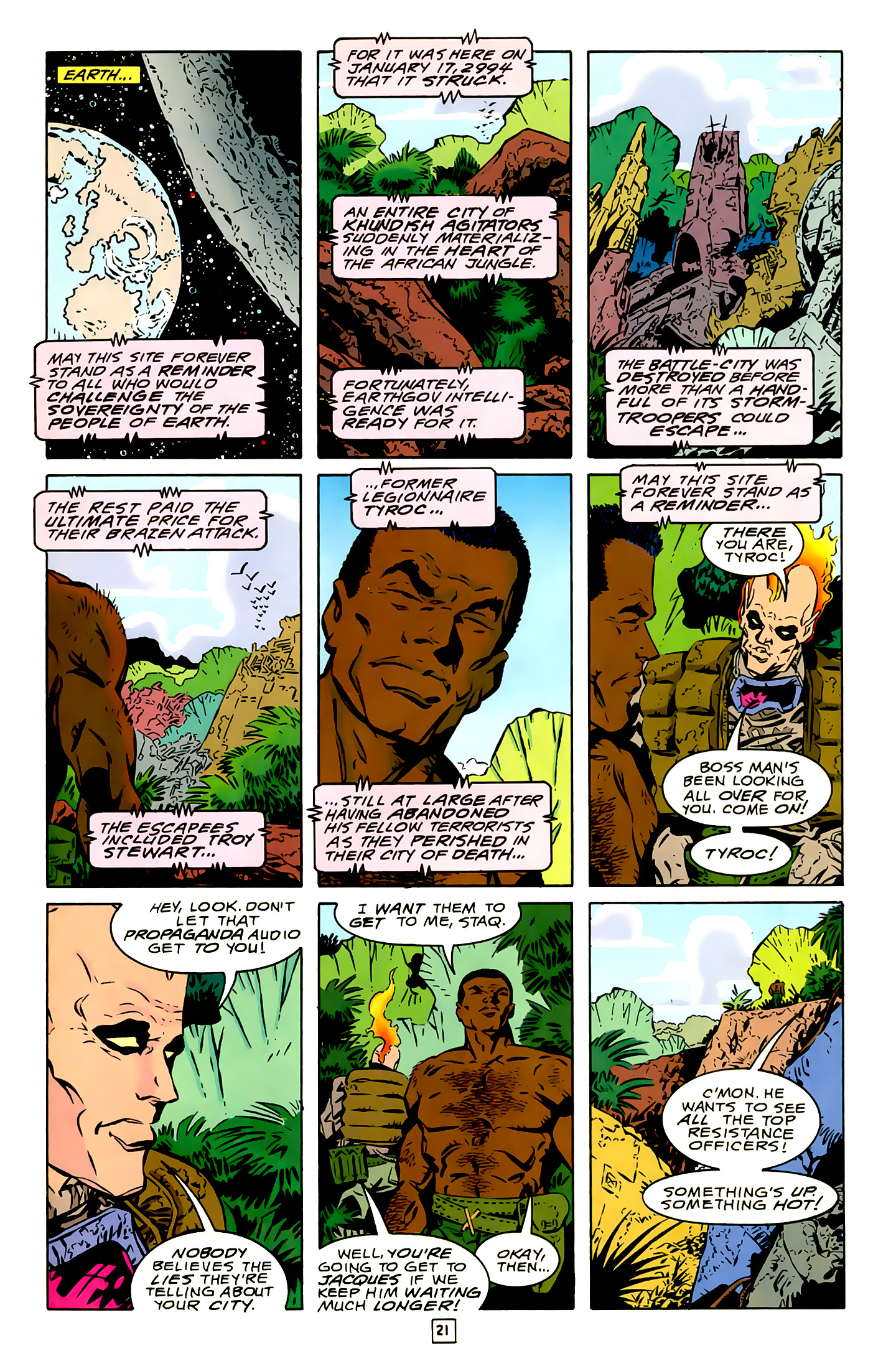 Legion of Super-Heroes (1989) 16 Page 21