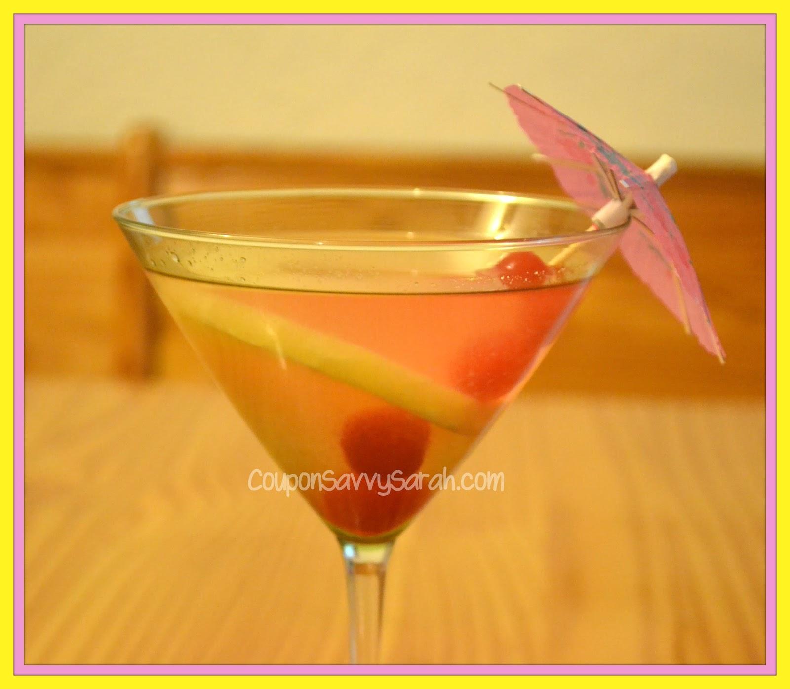 Coupon Savvy Sarah: Pineapple Upside Down Cake Martini Recipe