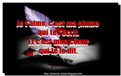 citation d'amour facebook