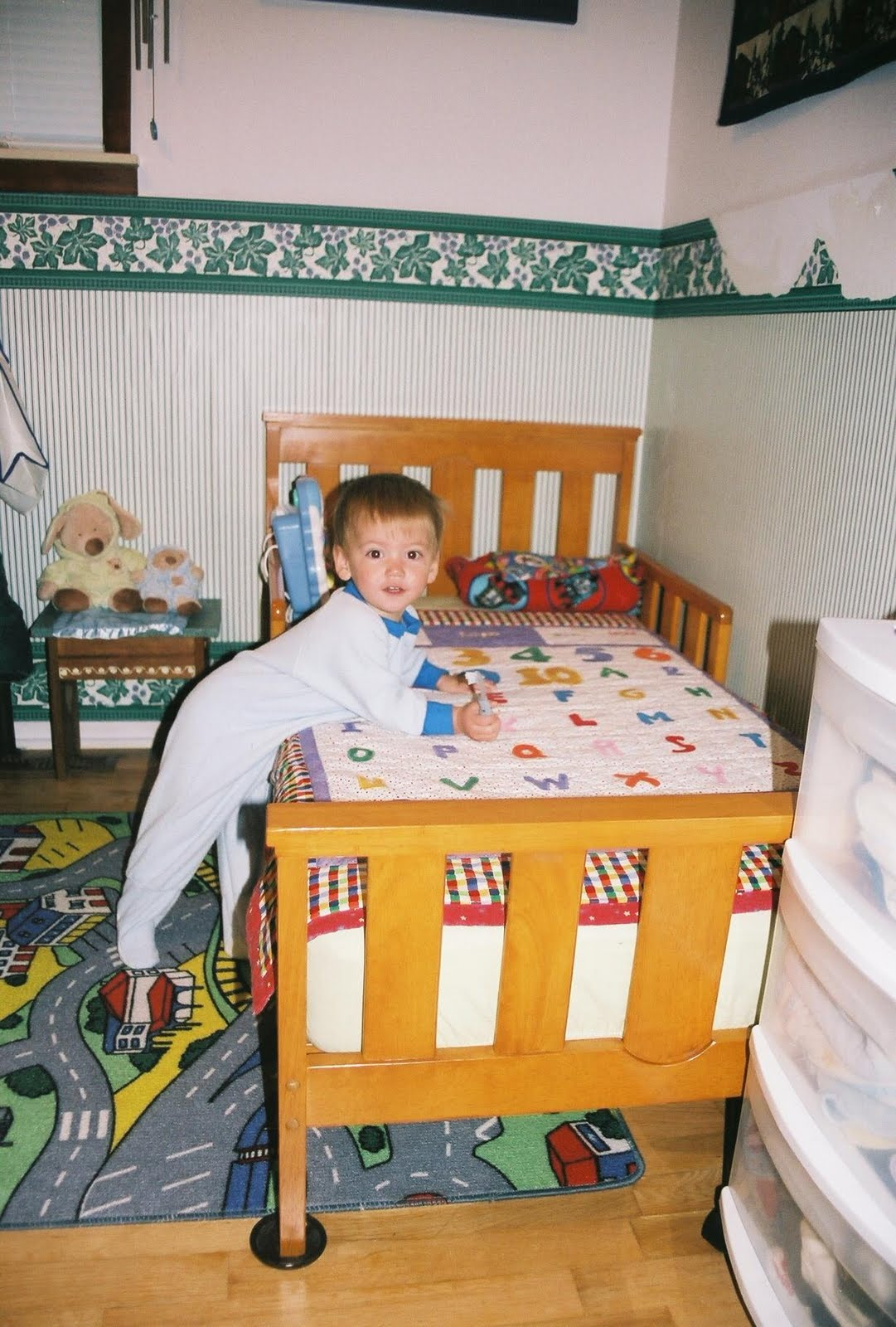 Musings From Mom School The Great Toddler Bed Debate