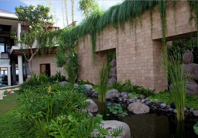 gambar pagar rumah minimalis batu alam