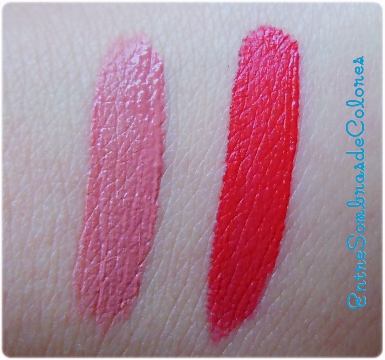 swatches labiales Essence